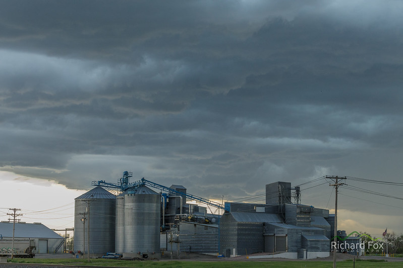 Storms of a Grain Processing Plant