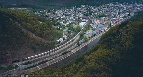 csx csxkeystonesub csxt haystackmountain narrows autoracks high highpoint highview mountain overlook railroad thenarrows trains view