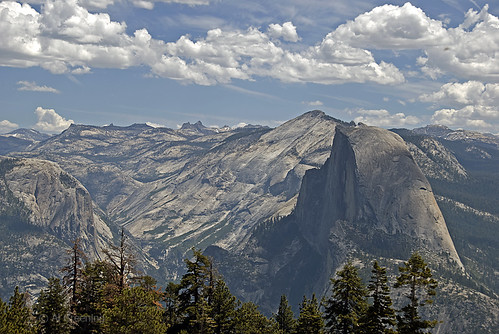 Half Dome from Sentinel Dome 105797