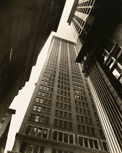 berenice-abbott-canyon-broadway-and-exchange-place-1936 | by Environmental.Detroit