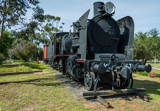 Retired steam train - Wycheproof | by smjbk