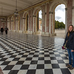 Emily at the Grand Trianon, Versailles