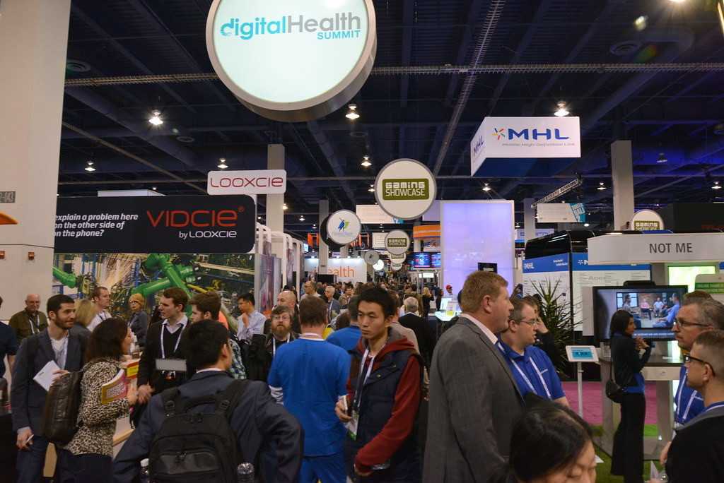 Living in Digital Times 2014 Digital Health Showfloor 6