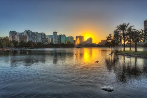 sunset orlando florida nik lakeeola hdr photomatix