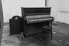 DSC_9328-1-2 Abandoned piano and stool