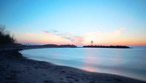 sunset lakefrontreservation lake lakeerie