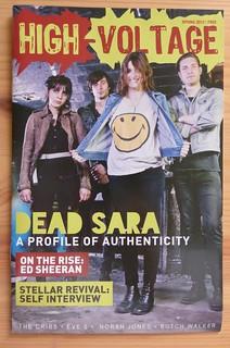 High Voltage Magazine w/Dead Sara