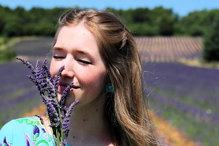 Smelling the lavender_8955 | by FeistyTortilla