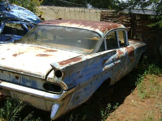 RHD 1959 Pontiac Strato Chief Saloon.