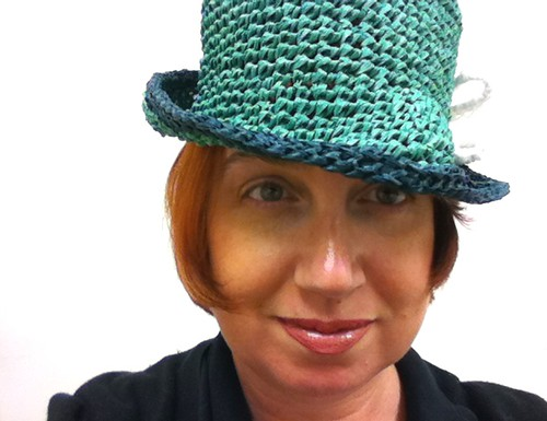 Crocheted Fedora | by ladylinoleum