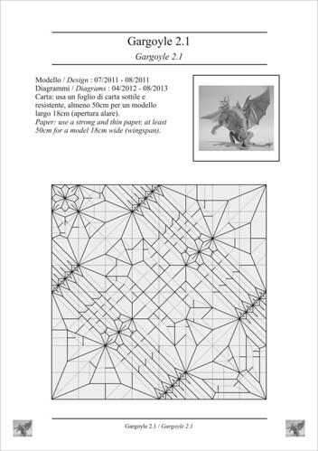 Gargoyle 2.1 cp (diagrams ready)   by ale_beber_origami
