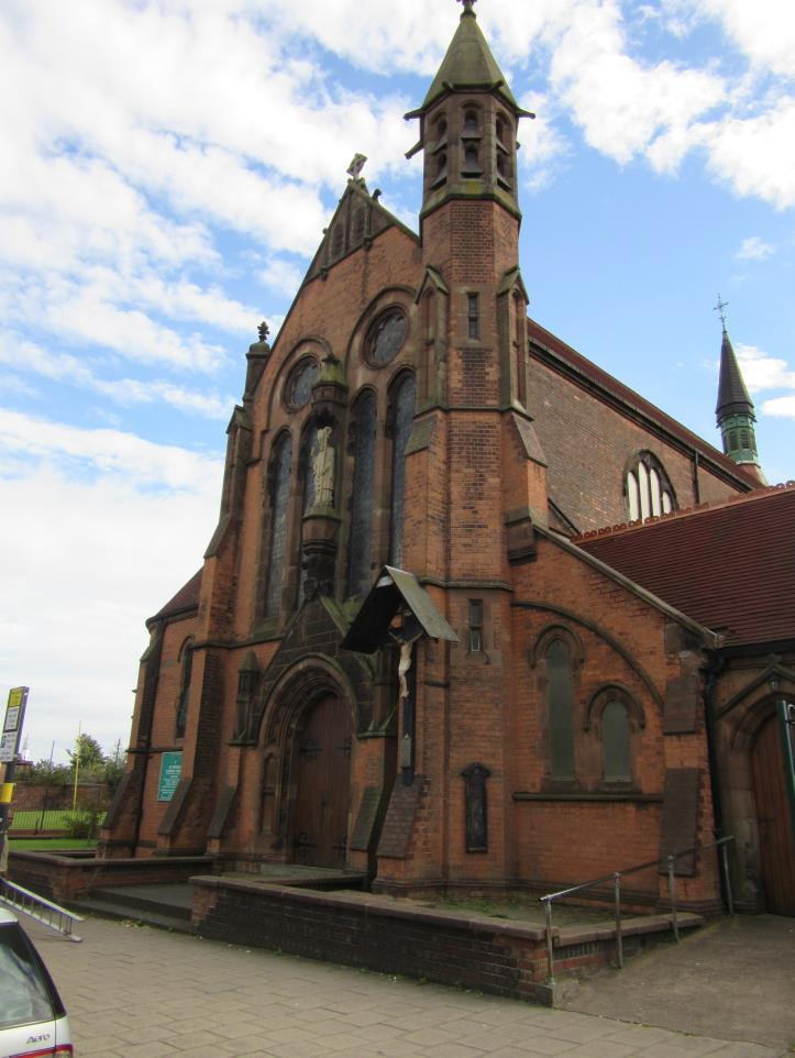 West Midlands, BIRMINGHAM, St Patrick, Dudley Road
