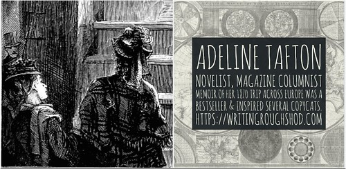 ADELINE TAFTON #100travelHERS | by sandrakaybee