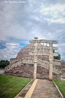 Sanchi Stupa  (36)   by travelling slacker