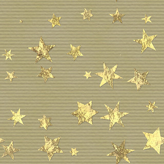 Gold Starred Paper | by Sharandra