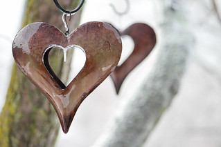 Rusted Icy Hearts   by Trenten Kelley