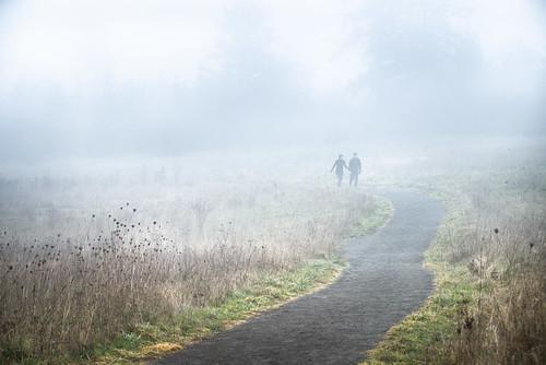 fog oregon walking couple flickr path beaverton fav20 hires trail marketplace fav10 coopermountainnaturepark copyrightbatchpublished2013