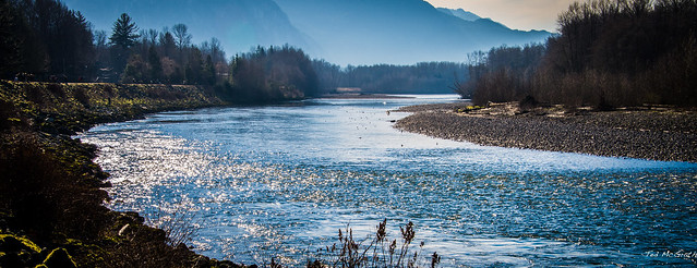 Squamish - 19 Jan 14 - Here's Looking Down your River - The Squamish