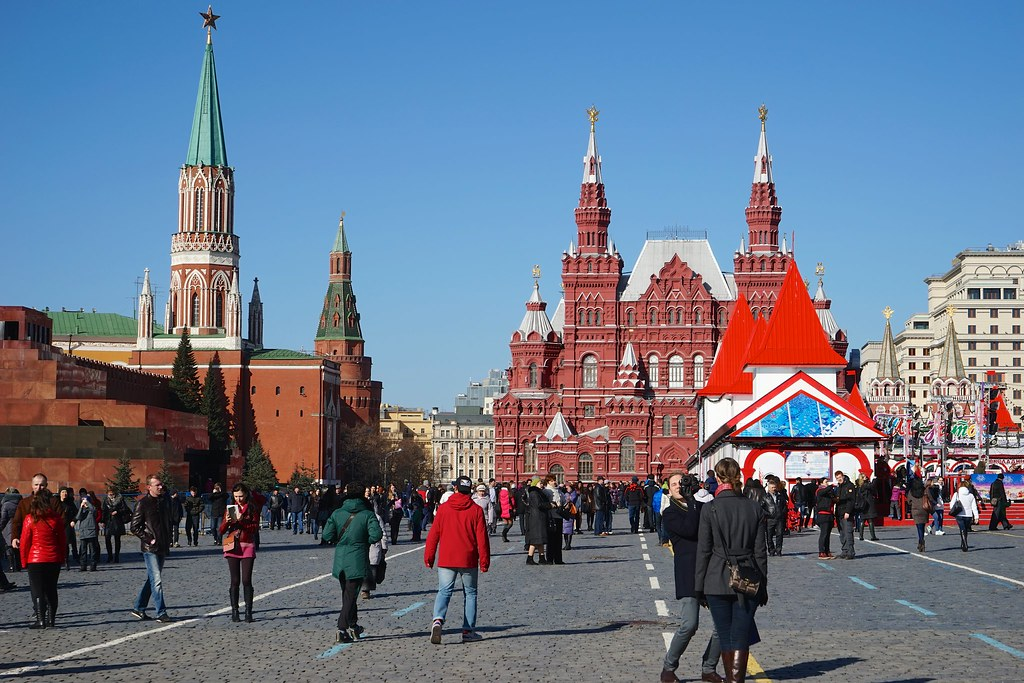 Moscow, Red square.