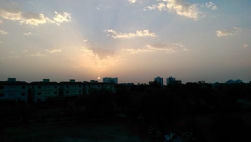 sky sun nature sunrise oneography