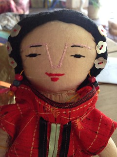 FORTUNE COOKIE DOLL ( DETAIL )