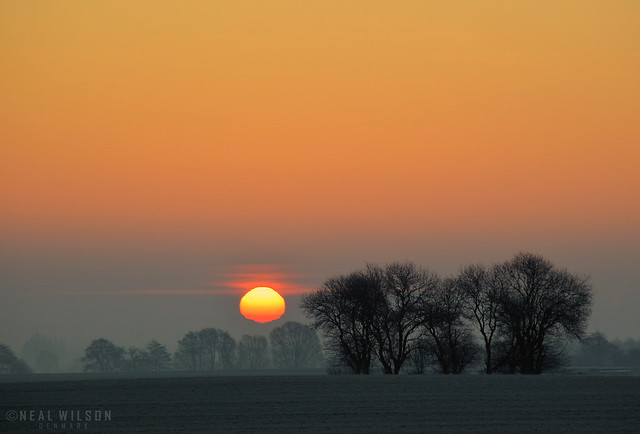 danish sunrise