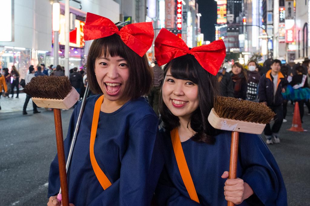 Shibuya, Halloween 2016