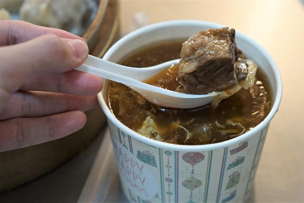 許記蒸餃_肉スープ