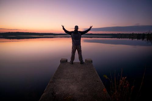 self portrait landscape nj newjersey sunrise majestic epic cool clear pond lake water dock selfie brendan byrne forest