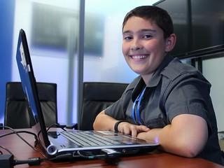 Zack Pakin Pre-Teen IT Support Whiz | by IntelFreePress