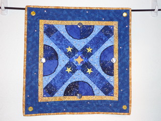 little star with beads | by Scientific Quilter