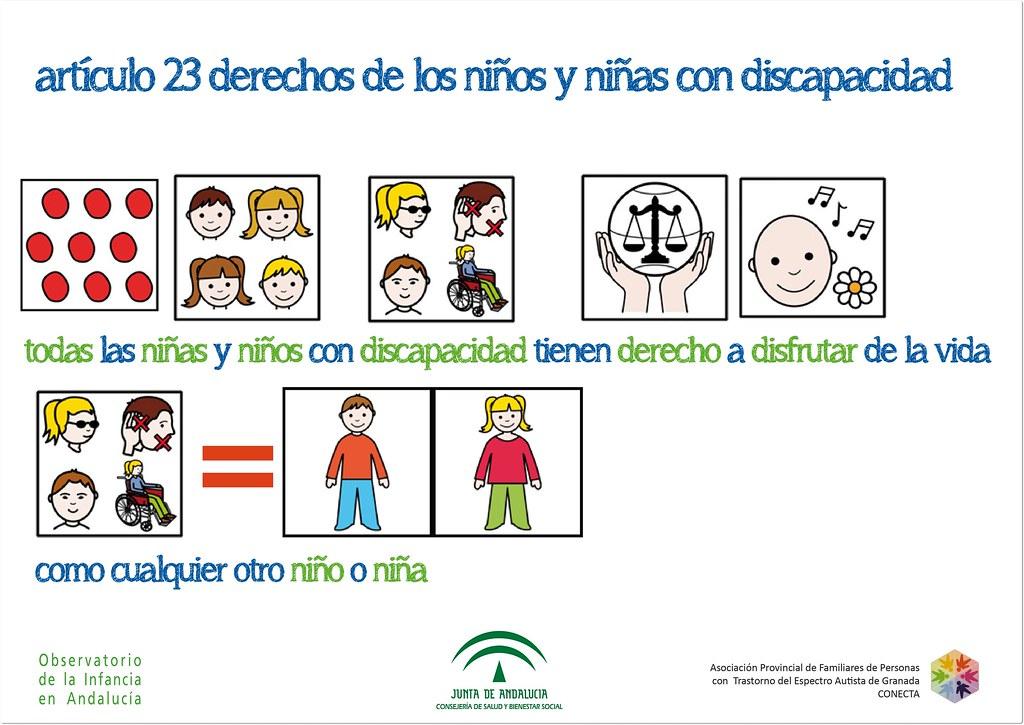 Artículo 23 Derechos De Los Niños Y Niñas Con Discapacida Flickr