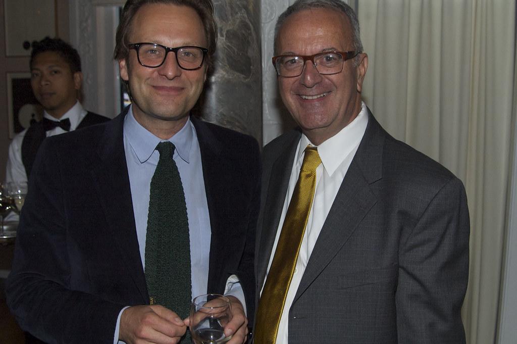 Daniel Birnbaum Director Of Moderna Museet And Joseph Me