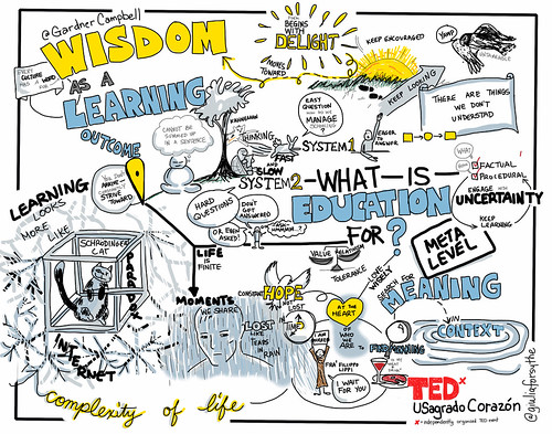 @GardnerCampbell's TEDx Talk: Wisdom as a Learning Outcome | by giulia.forsythe