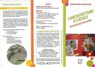 L'architecture à l'école, Architectes en Herbe | by colaborativa.eu