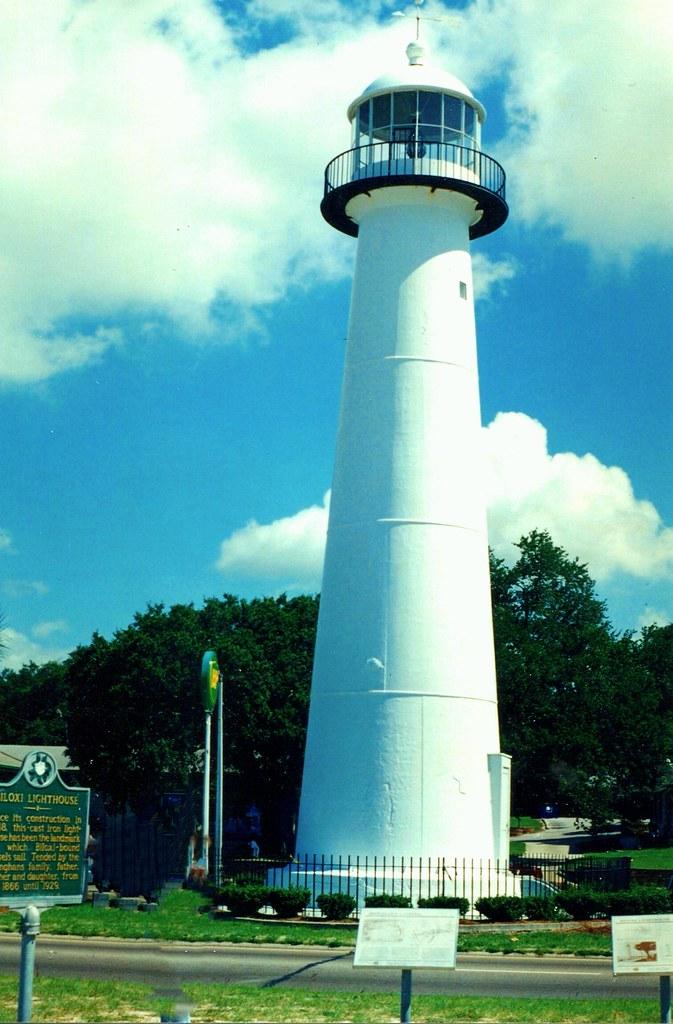 Biloxi Ms Biloxi Lighthouse Historic My Vintage Film Flickr