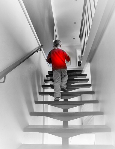 The Boy in Red (Explore) | by missgeok