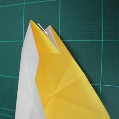 วิธีการพับกระดาษรูปม้าน้ำ (Origami Seahorse) 012