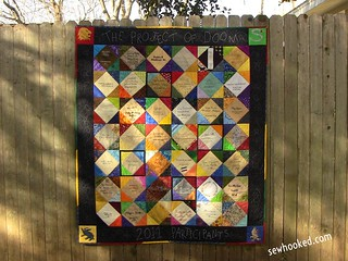 Project of Doom Signature Quilt | by Jennifer Ofenstein (sewhooked.com)
