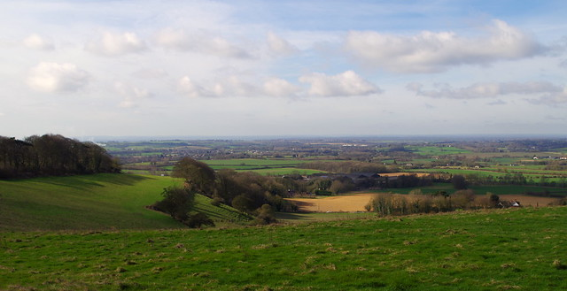 Englands green and pleasant land.