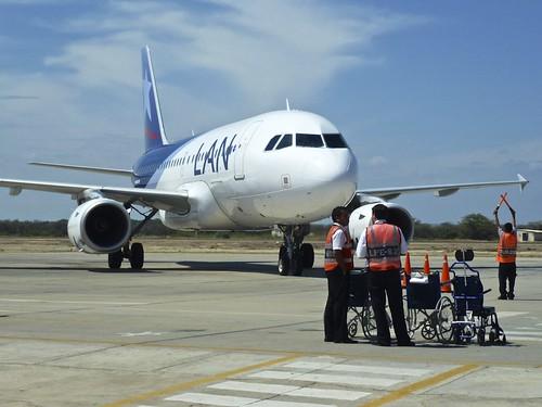 Lan Airline in Piura, Peru | by a l o b o s