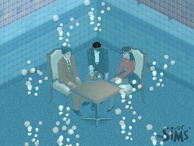 水底用餐Sims版(1) | by siaomiew