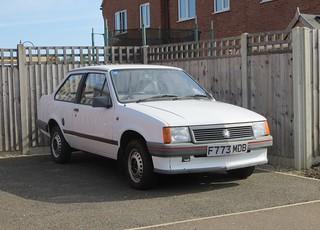1989 Vauxhall Nova 1.2 Merit 2dr | by Spottedlaurel