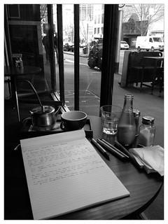The Basement cafe, 360 La Trobe St, Melbourne. Venue #1; Day 3 #cafe #research