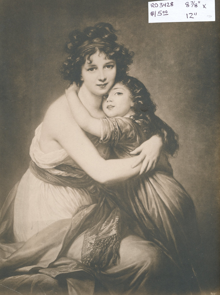 RD3428 Madame Vigee-Le Brun et sa fille