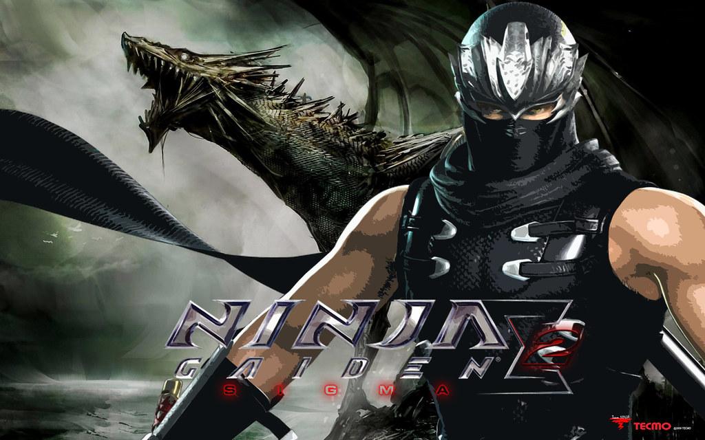 Ninja Gaiden Sigma 2 Black Dragon Wallpaper By Sunnyboiiii Flickr