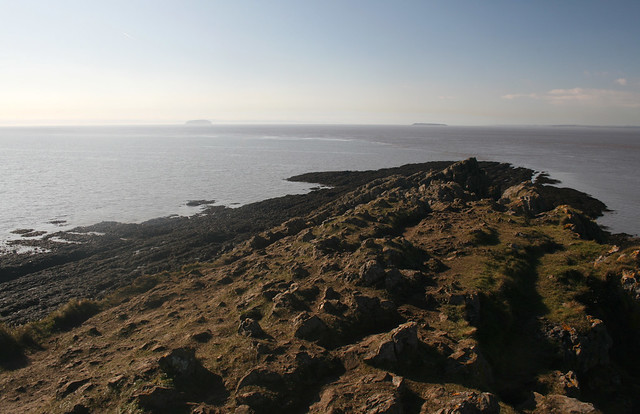The islands of Steep Holm and Flat Holm