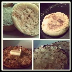 Homemade English Muffins...
