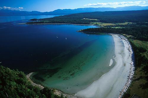 Tribune Bay, Hornby Island, Gulf Islands, Georgia Strait, British Columbia, Canada
