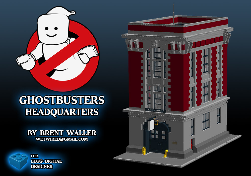 Ghostbusters HQ LDD File | DOWNLOAD LDD FILE HERE Thanks to